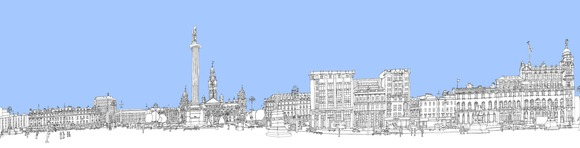 george square flatpack colour